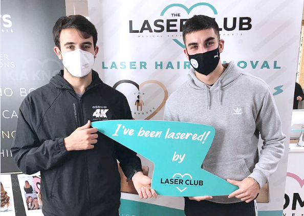 Manchester City stars sign up for Laser Hair Removal at The Laser Club